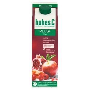 Hohes C Plus+ Vas alma-gránátalma-málna vegyes gyümölcs-zöldséglé