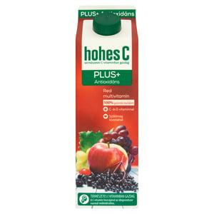 Hohes C Plus+ Antioxidáns Red Multivitamin 100% vegyes gyümölcsital