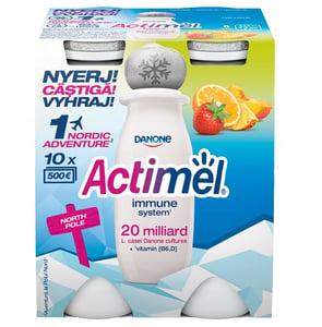 Danone Actimel zsírszegény, élőflórás, vegyes gyümölcsízű joghurtital