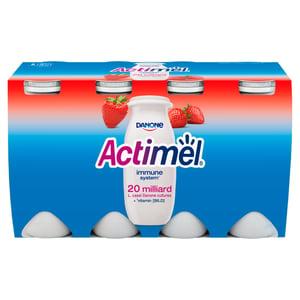 Danone Actimel zsírszegény, élőflórás, eperízű joghurtital 8x100ml