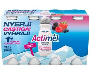 Danone Actimel zsírszegény, élőflórás, erdei gyümölcsízű joghurtital 8x100ml