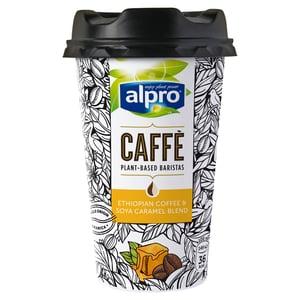 Alpro kávés szójaital karamell ízesítéssel