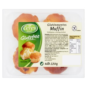 Ceres Sütő Glutafree Gluténmentes Muffin