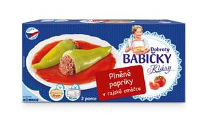 Dobroty babičky Kláry töltött paprika paradicsomos szószban