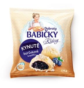 Dobroty babičky Kláry gőzgombóc, áfonyás