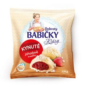 Dobroty babičky Kláry gőzgombóc, epres