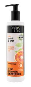 Organic Shop Active Tusfürdő - Grapefruit puch