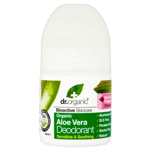 Dr.Organic Alumíniummentes golyós dezodor bio Aloe verával