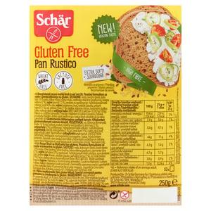 Schär gluténmentes többmagvas szeletelt kenyér
