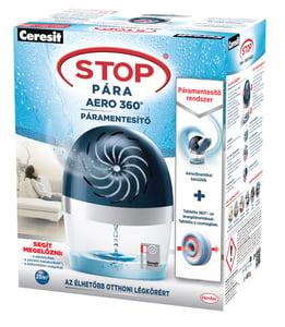 Ceresit Stop Pára Aero 360° páramentesítő rendszer 20 m2-ig