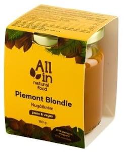 All In Natural Food Piemont Blondie nugátkrém