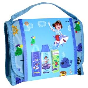 Kids Prémium BAG ajándékcsomag 1: fiú - Fa tusfürdő Kids Kalózoknak + Schauma sampon Kids fiúknak + Vademecum fogkrém Junior almaízű