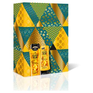 Gliss Kur Value ajándékcscsomag : Tápláló olaj - sampon Tápláló olaj + balzsam Tápláló olaj