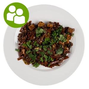 MEATOLOGY GO FOR 2 / Tofus rizstészta zöldségekkel (700g)
