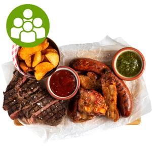 Nyári BBQ csomag a Zsidai Home-tól, 3-4 főre (1,96 kg)