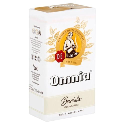 Omnia Barista Editions Arabica őrölt pörkölt kávé 225 g